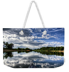 Weekender Tote Bag featuring the photograph Rankin Bottoms Hdr by Douglas Stucky