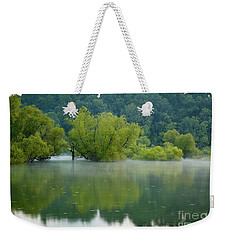Weekender Tote Bag featuring the photograph Rankin Reflections by Douglas Stucky