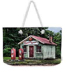Rankins Grocery In Watercolor Weekender Tote Bag by Lynne Jenkins