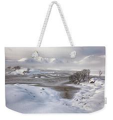 Rannoch Moor Winter Weekender Tote Bag