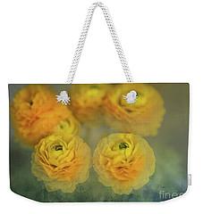 Ranunculus Weekender Tote Bag by Eva Lechner