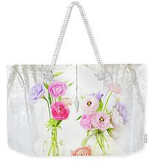 Ranunculus In Window Weekender Tote Bag