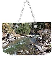 Rapid Stream Weekender Tote Bag