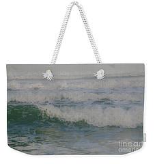 Rapid Waves Weekender Tote Bag by Iris Greenwell
