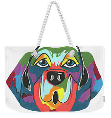 Rapping Rover - Funny  Dog Weekender Tote Bag