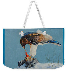 Raptor Weekender Tote Bag