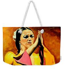 Raquel Heredia - Flamenco Dancer Sold Weekender Tote Bag