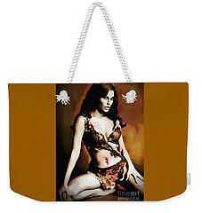 Raquel Welch - One Million Years B.c.  Weekender Tote Bag