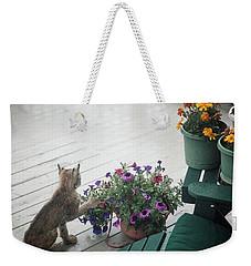 Swat The Petunias Weekender Tote Bag