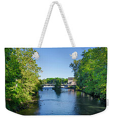 Raritan River - Clinton New Jersey  Weekender Tote Bag by Bill Cannon