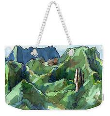 Rarotonga, Raemaru Mountain View Weekender Tote Bag