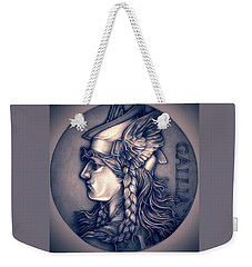 Rasberry Goddess Of Gaul Weekender Tote Bag by Fred Larucci