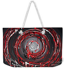 Raspberry Swirls Weekender Tote Bag