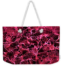 Abstract 2 Weekender Tote Bag by Patricia Lintner