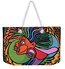 Rasta Queen Weekender Tote Bag