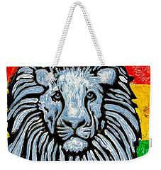 Rastafari Lion Weekender Tote Bag