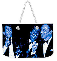 Rat Pack At Carnegie Hall Weekender Tote Bag