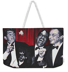 Rat Pack Weekender Tote Bag by Luis Ludzska