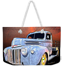 Rat Rod Flatbed Truck Texana Weekender Tote Bag