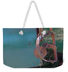 Weekender Tote Bag featuring the photograph Rat Trap by Nick Kirby