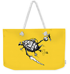 Rats In Space Weekender Tote Bag