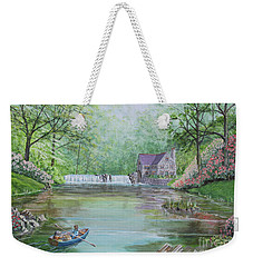 Ratty And Mole's Grand Day Out Weekender Tote Bag