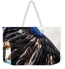 Raven Attitude Weekender Tote Bag by Carolyn Marshall