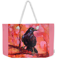 Raven Bright Weekender Tote Bag
