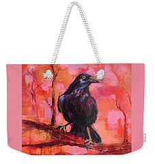 Raven Bright Weekender Tote Bag