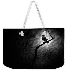 Raven, Death Valley Weekender Tote Bag by Marius Sipa