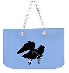 Raven Flight Weekender Tote Bag