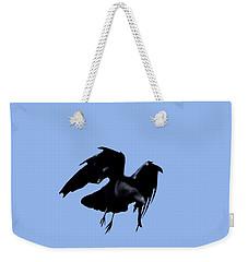 Raven Flight Weekender Tote Bag