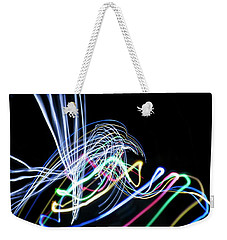 Raven In The Night Weekender Tote Bag