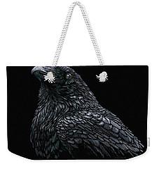 Raven Weekender Tote Bag by Kathie Miller