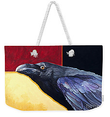 Raven Of The Tomorrow Wings Weekender Tote Bag