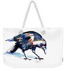 Raven Shadow From Vancouver Weekender Tote Bag