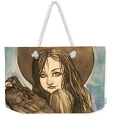 Raven Witch Weekender Tote Bag