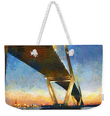 Ravenel Bridge Weekender Tote Bag