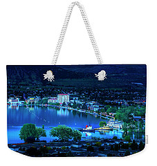 Weekender Tote Bag featuring the photograph Raven's Eye View by John Poon