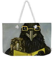 Ravens Read Weekender Tote Bag