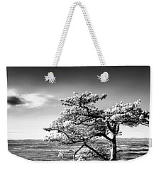 Weekender Tote Bag featuring the photograph Ravens Roost Ir Tree by Kevin Blackburn