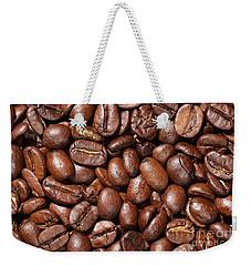 Raw Coffee Beans Background Weekender Tote Bag
