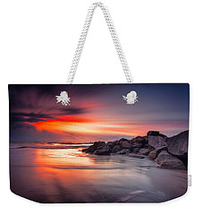 Weekender Tote Bag featuring the photograph Ray Of Hope by Edward Kreis