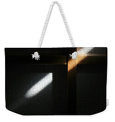 Weekender Tote Bag featuring the digital art Ray Of Light by Todd Blanchard