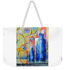 Ray's Blue Weekender Tote Bag