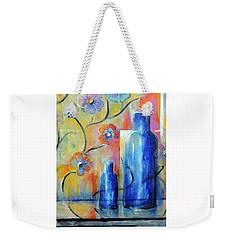 Ray's Blue Weekender Tote Bag