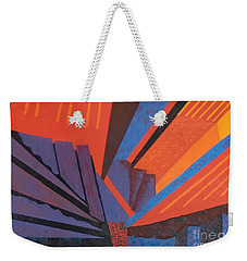Rays Floor Cloth - Sold Weekender Tote Bag