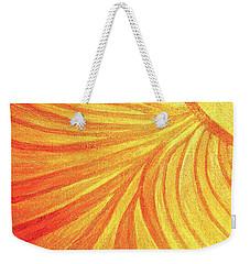 Rays Of Healing Light Weekender Tote Bag by Rachel Hannah