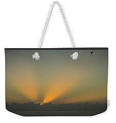 Rays Of Hope At Sunrise Delray Beach Florida Weekender Tote Bag