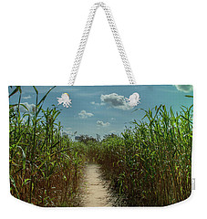 Weekender Tote Bag featuring the photograph Rays Of Hope by Karen Wiles